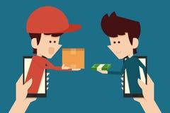 E-commerce concept. Flat design, vector vector illustration