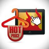 E-commerce deals sale icons. Illustration design Royalty Free Stock Photos