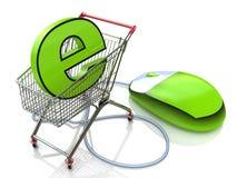 E-commerce royalty free stock photo