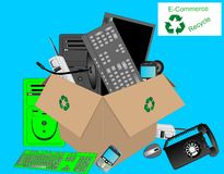 E-commerce Dump Royalty Free Stock Photos