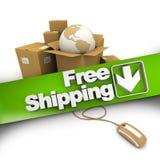 E-commerce free shipping Royalty Free Stock Photo