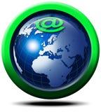 E-commerce global Stock Image