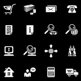 E-Commerce Icon Set (Vector) Royalty Free Stock Photos