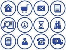 Free E-Commerce Icon Set (Vector) Stock Image - 9677671
