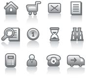 E-Commerce Icon Set (Vector) Stock Photo