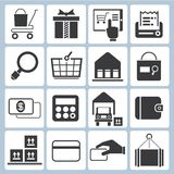 E commerce icons Stock Images