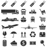E-commerce icons Stock Images