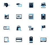 E-commerce icons set Stock Image