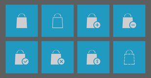 E-commerce icons Stock Image