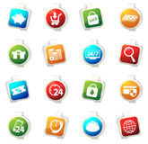 E-commerce icons set Stock Photo