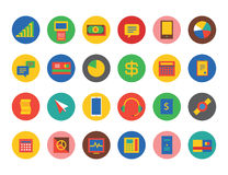 E-commerce Icons Vector Set. Shop, money or Stock Image