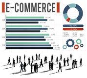 E-Commerce Online Marketing Strategy Corporate Concept Stock Photography