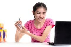 E-commerce seller Stock Images