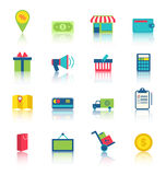 E-commerce Shopping Symbo Stock Images