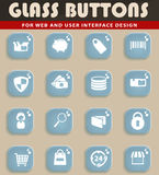 E-commerce simply icons Royalty Free Stock Photography