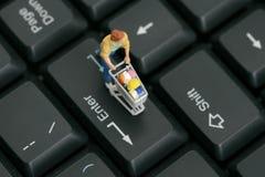 E- Commercio Fotografia Stock Libera da Diritti