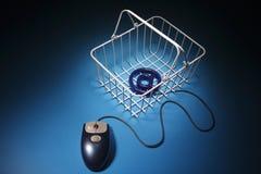 E-commerse Fotografia Stock Libera da Diritti