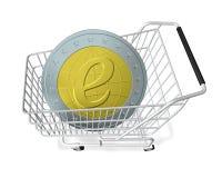 E-Compra Foto de Stock