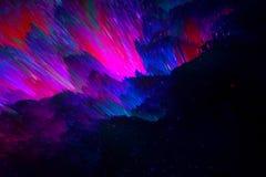E Concept cosmique photographie stock libre de droits