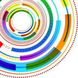 E Creatief Idee Als achtergrond voor Digitale afbeelding royalty-vrije illustratie