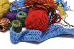 E crochet r стоковое фото rf