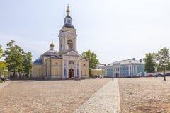 E De Kathedraal van de Verlossertransfiguratie op het Kathedraalvierkant royalty-vrije stock fotografie
