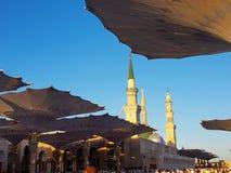 E De moskee is één van stock afbeelding