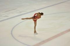 E 03 2016: De schaatser van het meisjescijfer Royalty-vrije Stock Foto