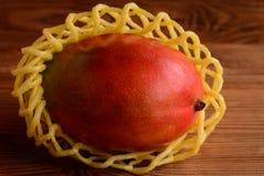 E De zoete foto van het mangofruit close-up royalty-vrije stock foto's