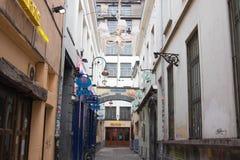 E 02 19: Deliriumkoffie in Brussel stock afbeeldingen