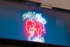 E 02 19: Deliriumkoffie in Brussel royalty-vrije stock afbeelding