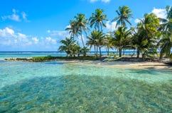 E Destinaci?n tropical imágenes de archivo libres de regalías