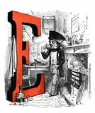 E Is for Eccentricity Royalty Free Stock Images