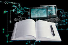 E-education engineering technology. Stock Photography