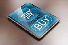E-Einkaufen Lizenzfreie Stockfotografie