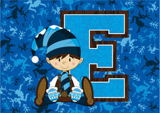 E is for Elf Stock Images