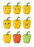 E emoties stickers vector illustratie
