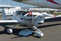 E-estrela 2 de Diamond Aircraft DA36 dos aviões leves Imagens de Stock