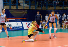 E. Ezhova (3) in action Stock Image