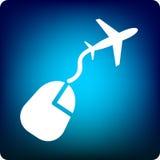 E flight vector illustration
