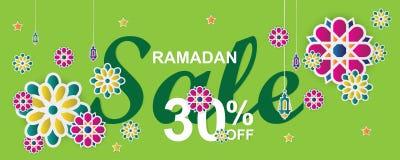 E Flores del Arabesque, linternas, crecientes tradicionales y stock de ilustración