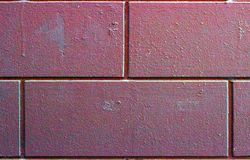 E Fond de brique photographie stock libre de droits