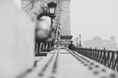E Fondo della costruzione di architettura L'Ungheria, Budapest immagini stock libere da diritti