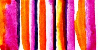 E Fondo pintado a mano abstracto de la acuarela stock de ilustración