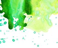 E Fondo pintado a mano abstracto de la acuarela libre illustration