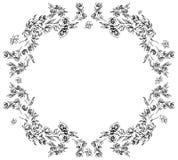 E Foral ramy projekta elementy dla zaprosze?, wita royalty ilustracja