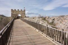 E Fortaleza de Ovech, Provadia, Bulgária Foto de Stock Royalty Free