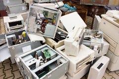 E-gaspillez Photographie stock libre de droits
