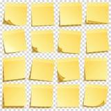 E Gelbes Papier r anzeige Vektor vektor abbildung