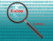E-Geschäft Lizenzfreies Stockbild